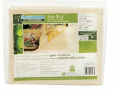 Eco Stay  2 ft. W x 8 ft. L Polyester  Indoor  Rug Pad