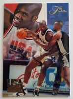 """Shaquille O'Neal Flair 1994 NBA  Card #75 """"Golden Moment'"""" Olympic Team"""