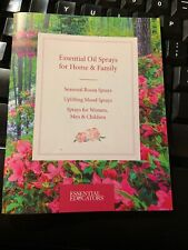 NEW! Essential Oil Room Sprays for Home & Family Booklet Doterra young living