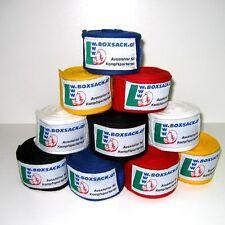 Boxbandage Bandagen elastisch oder unelastisch 5 Farben Länge von 250 bis 450 cm