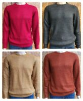 Men`s Branded Chunky Thick Jumper Size S-M-L-XL-2XL - NEW