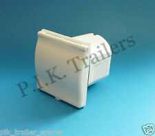 FREE P&P* IP44 Mains 240v 16a Flush Fit Socket WHITE for Caravans & Motor Homes