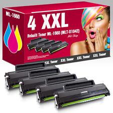 4XXL Toner für Samsung ML1660 ML1665K ML1860 ML1865 ML1865W SCX3200 SCX3205W