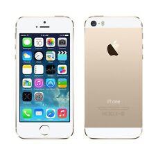 APPLE IPHONE 5S 16GB GRADO AB ORO GOLD ORIGINALE RIGENERATO RICONDIZIONATO USATO