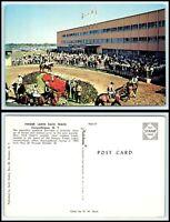NEW YORK Postcard - Canandaigua, Finger Lakes Race Track D20
