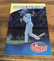 2006 Topps Alex Rodriguez #9 2K6 MLB All Stars - Yankees