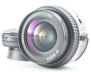 MINT Nikon AF Nikkor 24mm f/2.8 Wide Angle Prime Lens For From JAPAN