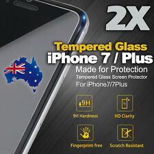2 x  iPhone 7  iPhone 7 Plus Original Premium Tempered Glass Screen Protector
