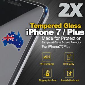 2 x  iPhone 7  iPhone 7 Plus Original Premium Tempered Glass Screen Protector