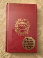 A Christmas Carol - Charles Dickens - Replica Book of 1843 New Shipping Fast!