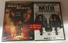 Ghost Rider & Men In Black 2 SET Brand New Sealed Full Screen Edition