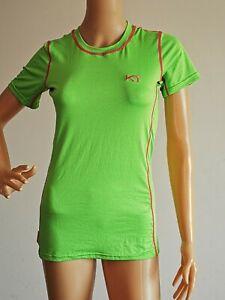 KARI TRAA Funktionsshirt  T-Shirt Gr. L grün
