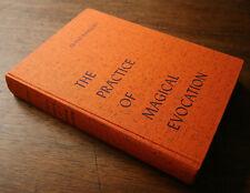 Rare … MAGICAL EVOCATION by Franz Bardon / HARDCOVER OCCULT GRIMOIRE MAGICK