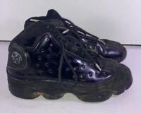 Nike Air Jordan XIII 13 Retro Cap And Gown GS  triple black Size 6Y 884129-012