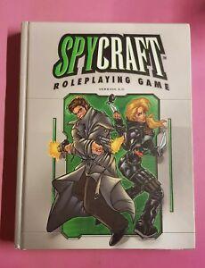 SPYCRAFT CORE HARDBACK VERSION 2 D20 AEG RPG ROLEPLAYING ROLEPLAY DND 3RD ED D&D
