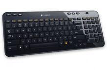 Logitech K360 Funk/Wireless Tastatur QWERTZ Deutsch Schwarz leise kabellos