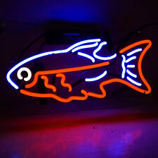 "New Neon Sign Light Seafood Shop Decor Beer Bar Pub Wall Poster Restaurant14""X8&#034 ;"