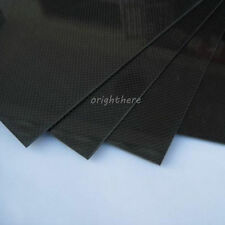 SALE 200×300×2mm With 100% Real Carbon Fiber plate/panel/sheet 3K plain weave AA
