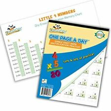 Channie's Math Practice Combo Pack for Elementary School Students, One Page a Da