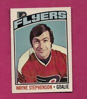 1976-77 OPC # 190 FLYERS WAYNE STEPHENSON  GOALIE  NRMT-MT CARD (INV# 7325)