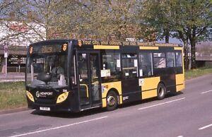 original slide  Newport Bus Enviro200 306 (YX11 AHV)