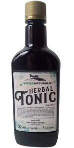 Yoder Naturals Apple Cider Vinegar Herbal Tonic Herb Infused Supplement 25 fl oz
