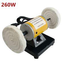 Fda Dental Lab Polishing Machine Lathe Bench Buffing Grinder Polisher Low Noise