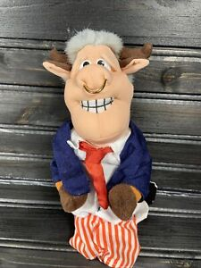 Vintage Infamous Meanies Series 1 - Bull Clinton Red Tie 1st Issue NWT