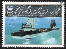RAF 204 Squadron SHORT SUNDERLAND S.25 Flying Boat Seaplane Aircraft Stamp