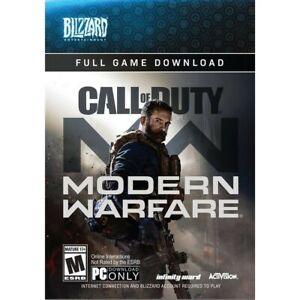 Modern Warfare Pc Blizzard -exclusive versión