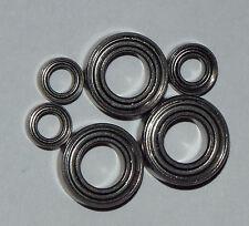 Shimano Aernos 2500/3000FA bearing set Upgrade abec7 stainless steel (FS 204)