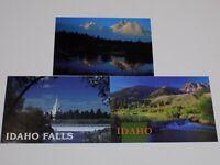 Idaho Postcard Vintage Color Lot Falls McGowan Park Sawtooth Mountains Temple +