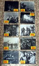 HAIE UND KLEINE FISCHE * 10 Aushangfotos 2. WA - Ger L C  End-1970er FELMY