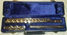 Silver Selmer FL302 Flute with Plush Case Used Good Condition Student Orchestra