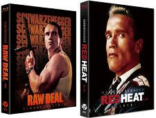 Red Heat & Raw Deal (2016, Blu-ray) Full Slip Edition / Arnold Schwarzenegger