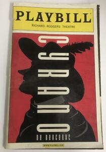 Cyrano Playbill - Original Broadway Cast - Kevin Kline - Jennifer Garner