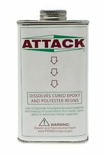8 Oz Attack Epoxy Adhesive Residue Removal Solvent Jewelry Making Solution