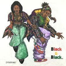 New listing Vtg 90s Black Master Image T-Shirt 2-Sided Color Logo Hip Hop Rap Cross Tee Xl