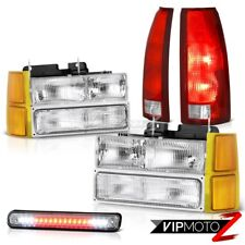 1994-1998 Silverado 1500 Headlamps corner 3rd brake lamp tail lamps LED Assembly