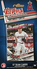 Anaheim Angels 2017 Topps Factory Sealed Team Set Albert Pujols Mike Trout plus