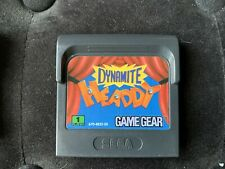 Dynamite Headdy - Jeu Sega Game Gear