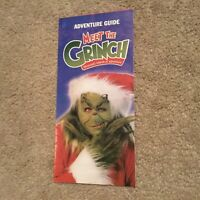 Vintage Universal Studios Florida Islands of Adventure Grinchmas 2002