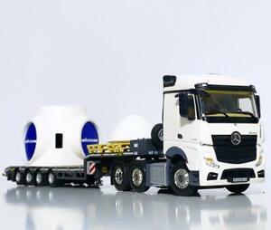 Mercedes Actros lowloader trailer+windmill hub WSI truck models