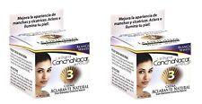 2X La Original Concha Nacar de Perlop Blanca White #3 Cream 2  00006000 oz -56g each