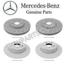 Mercedes Benz R171 W203 C230 C240 Front & Rear Brake Disc Rotors Genuine KIT