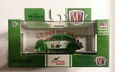 M2 MACHINES DIECAST WAL-MART EXCL TURTLE WAX 1953 VW BEETLE DELUXE CHASE 1/750
