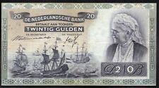 PAYS BAS ; 20 Gulden ; EMMA ; 3 Octobre 1940 ; Pick#53  / L24