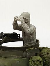 1/35 Resin Figure Model Kit US Soldier Tank Crew WWII Unpainted Unassambled