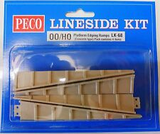 Peco 00 LK-68 Platform Ramp Edging - Concrete (00) Model Railway