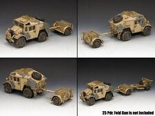 King And Country Desierto Quad Gun Tractor & ágil ea085 ea85